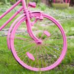 rosa Fahrrad (1)
