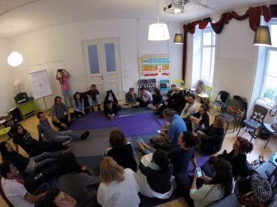 sitting workshop